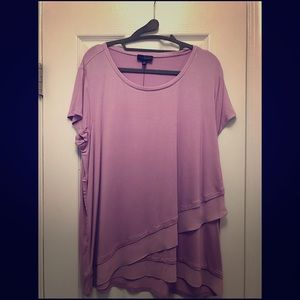 New w/ Tags - The Limited - Purple Layered T-Shirt